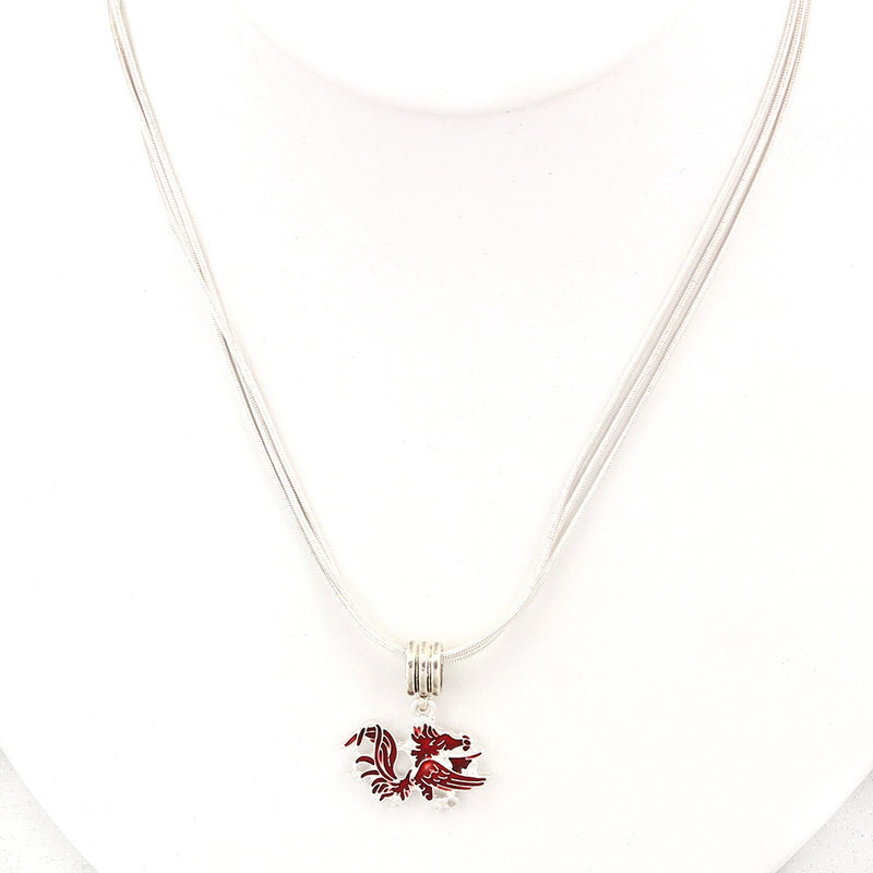 University of South Carolina Enamel Logo Necklace