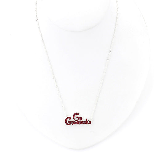 University of South Carolina Slogan Necklace