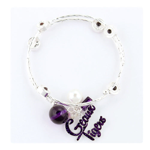 Louisiana State University Slogan Bracelet