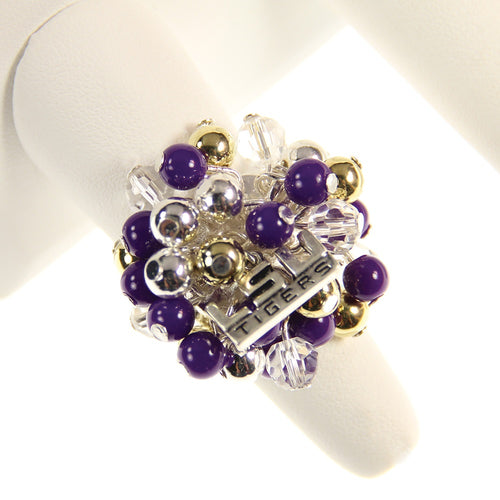 Louisiana State University Bauble Ring