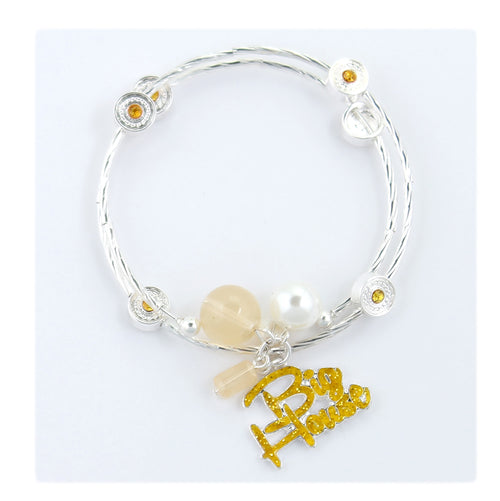University of Michigan Slogan Bracelet