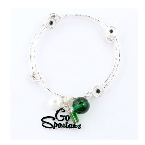 Michigan State University Slogan Bracelet