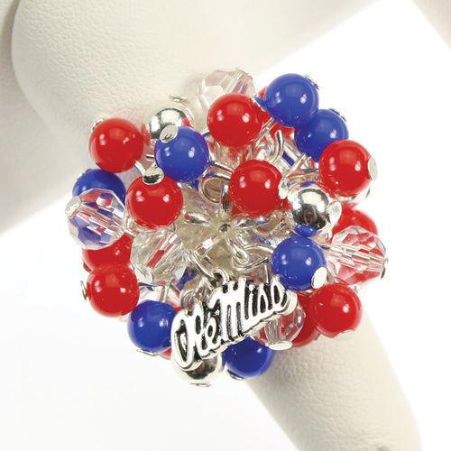 University of Mississippi Bauble Ring