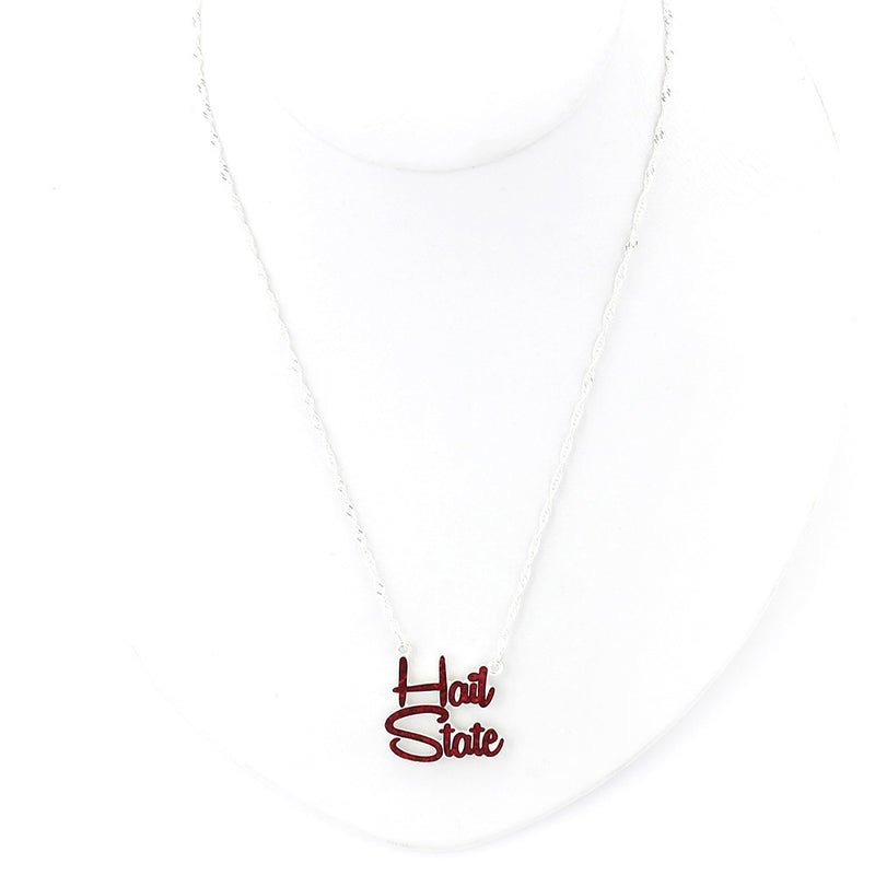 Mississippi State University Slogan Necklace