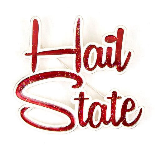 Mississippi State University Slogan Pin