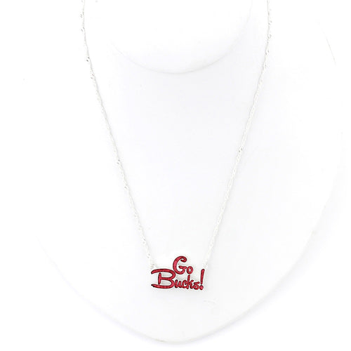 Ohio State University Slogan Necklace