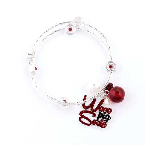 University of Arkansas Slogan Bracelet