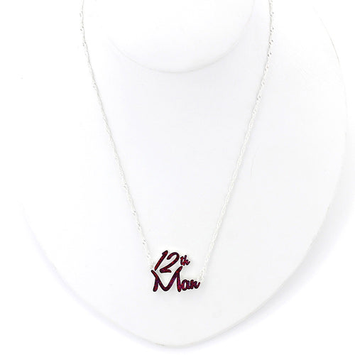 Texas A&M University Slogan Necklace