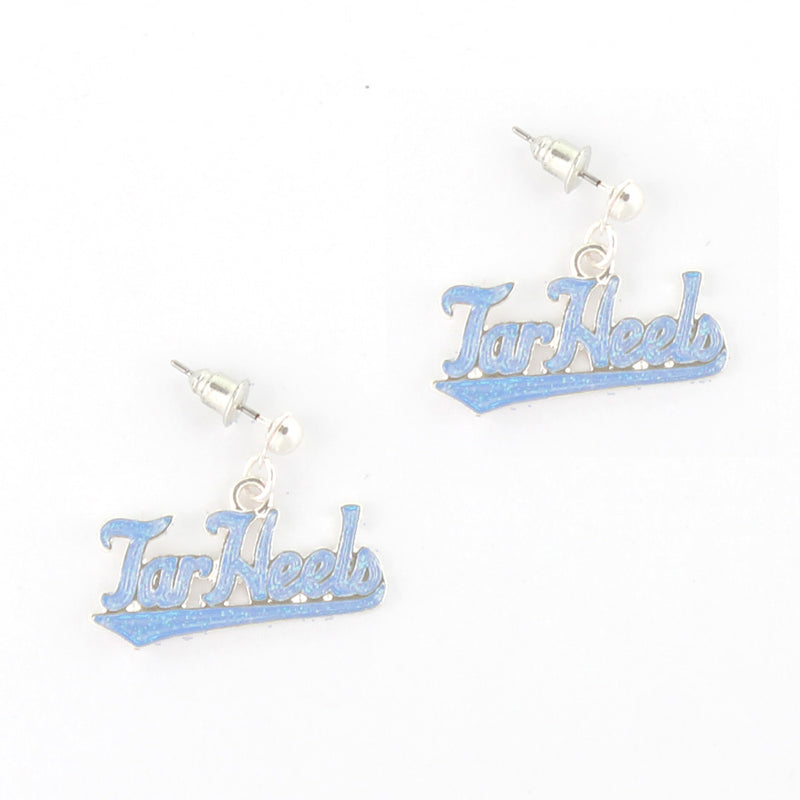 University of North Carolina Tar Heels Crystal Earrings