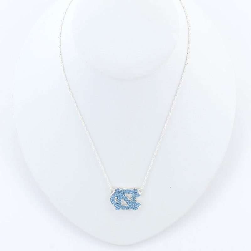 University of North Carolina Crystal Necklace