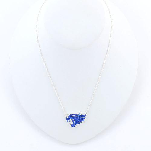 University of Kentucky Crystal Wildcats Necklace