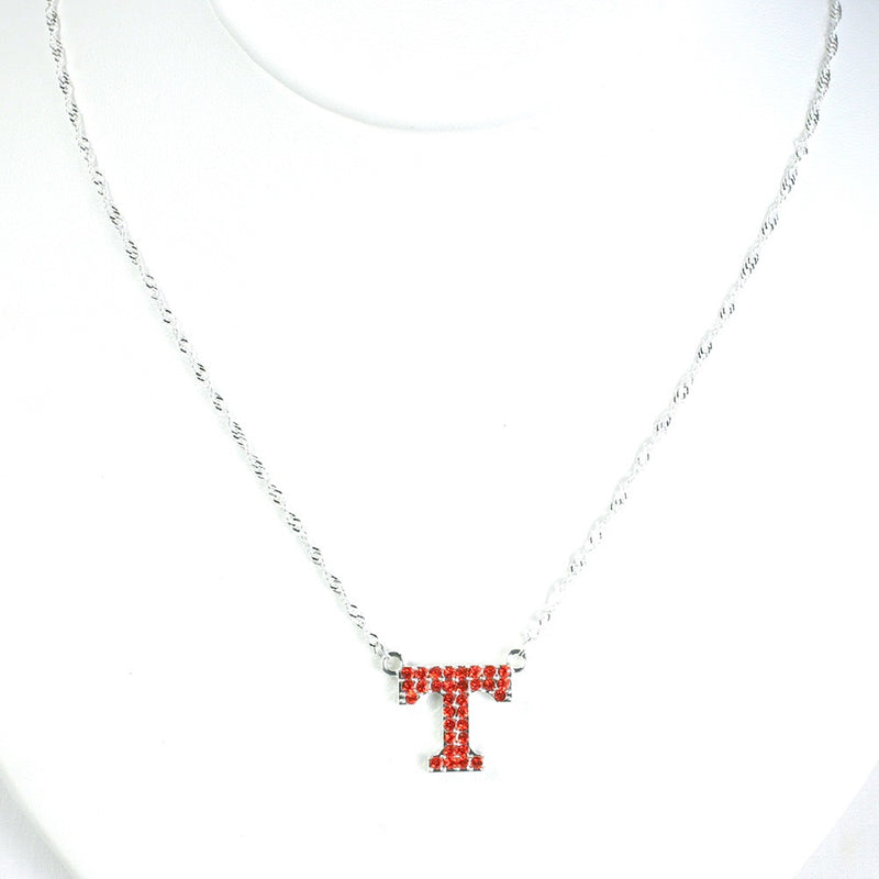 University of Tennessee Crystal Logo Necklace