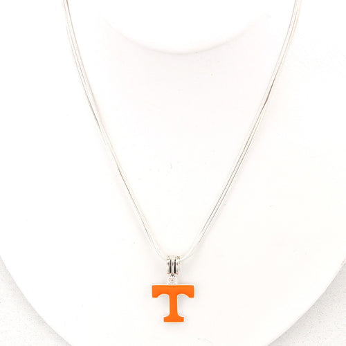 University of Tennessee Enamel Logo Necklace