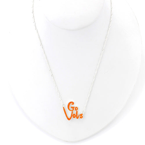 University of Tennessee Slogan Necklace