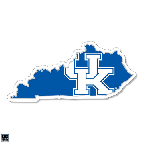 "University of Kentucky Interlock Logo in State Vinyl Decal (6"")"