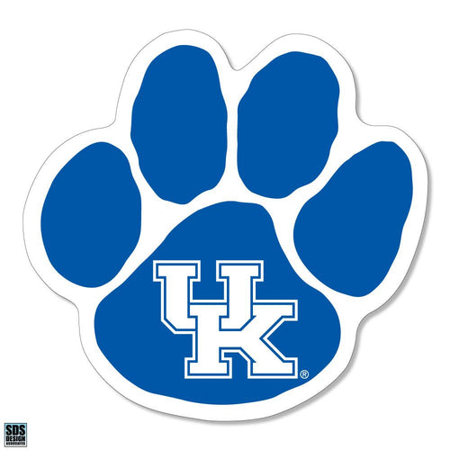 "University of Kentucky Wildcats Paw Dizzler Decal (2"")"