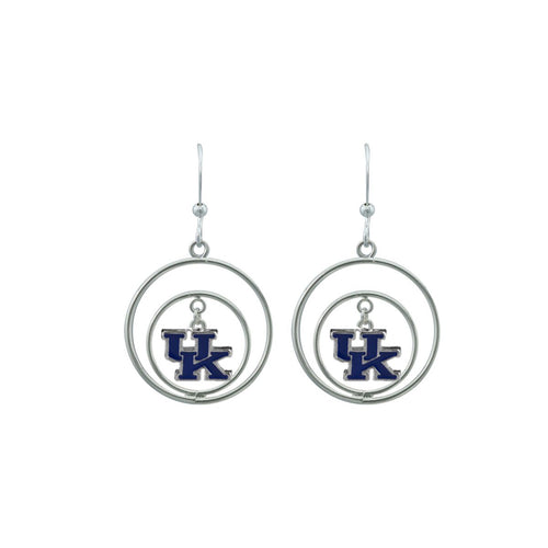 University of Kentucky Circles Earrings Edwina