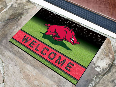 University of Arkansas Crumb Rubber Door Mat