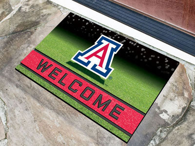 University of Arizona Crumb Rubber Door Mat