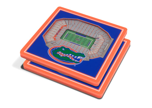 University of Florida 3D Ben Hill Griffin Stadium Coasters (2-Pack)
