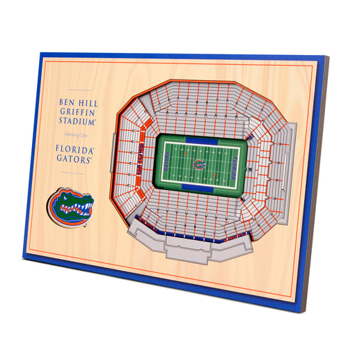 University of Florida 3D Desktop StadiumView - Ben Hill Griffin Stadium
