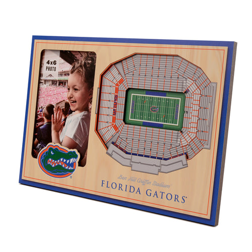 University of Florida 3D Picture Frame - Ben Hill Griffin Stadium