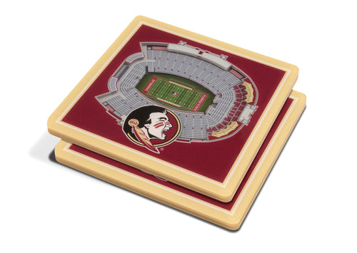 Florida State University 3D Doak Campbell Stadium Coasters (2-Pack)