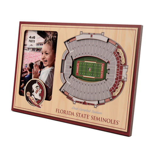 Florida State University 3D Picture Frame - Doak Campbell Stadium