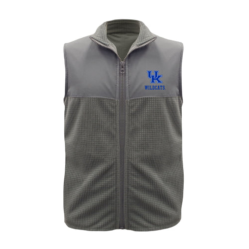 University of Kentucky Gray Youth Boy Fleece Vest