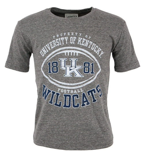 University of Kentucky Youth Slub Football Tee