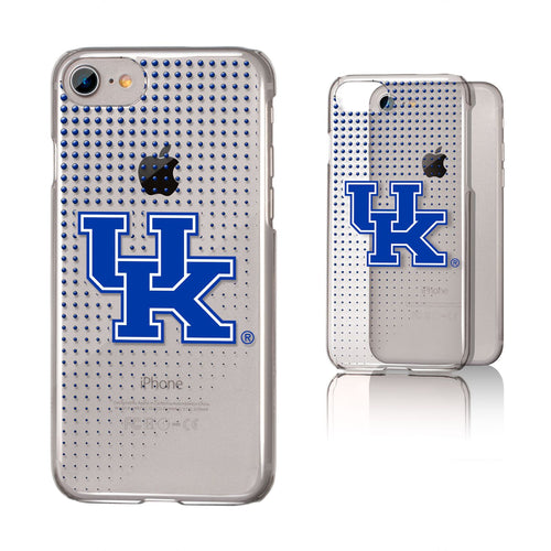 University of Kentucky Clear Slim Dot Case (iPhone)