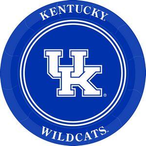 University of Kentucky Paper Plates