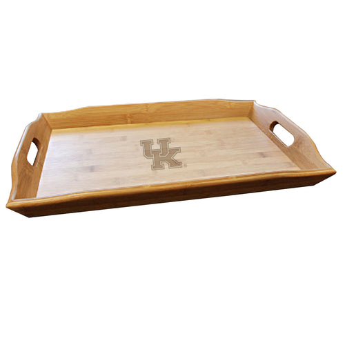 University of Kentucky Football Bamboo Serving Tray