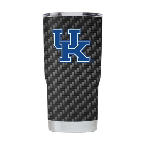 University of Kentucky Carbon Fiber 20 Ounce Tumbler