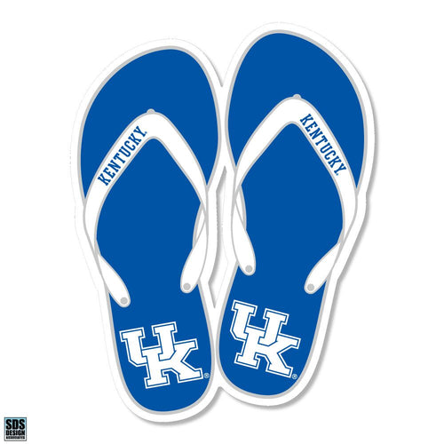 "University of Kentucky Flip Flops Magnet (3"")"