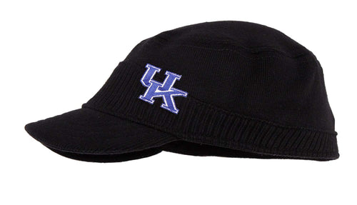 University of Kentucky Knit Military Style Cap