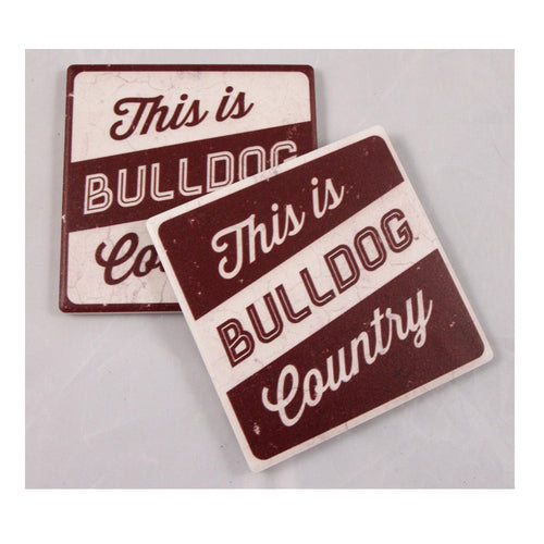 Mississippi State University Thirsty Coaster 4-Pack