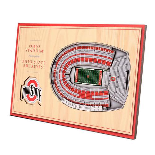 Ohio State University 3D Desktop StadiumView - Ohio Stadium