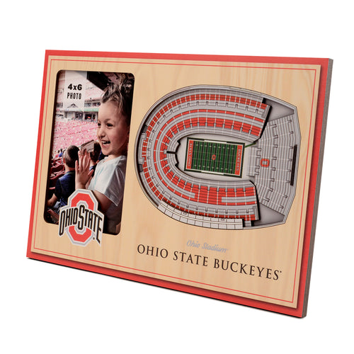Ohio State University 3D Picture Frame - Ohio Stadium