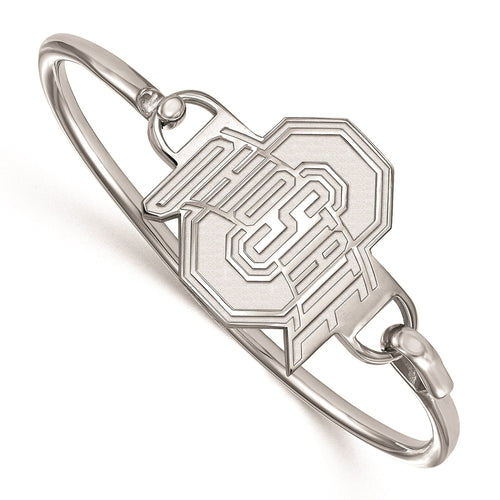 Ohio State University Sterling Silver Bangle