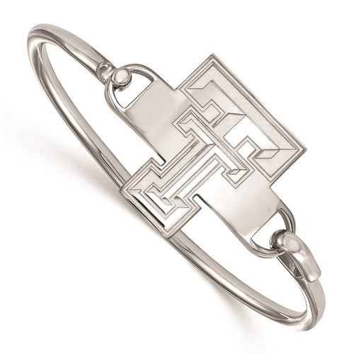 Texas Tech University Sterling Silver Bangle