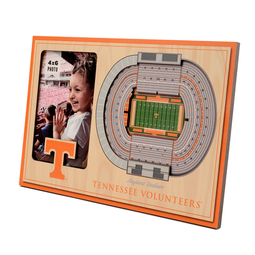 University of Tennessee 3D Picture Frame - Neyland Stadium