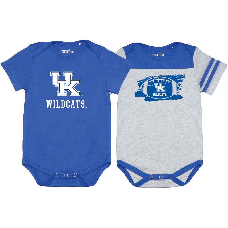 University of Kentucky Tommy 2 Pack Bodysuit