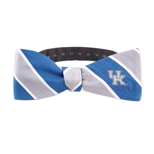 University of Kentucky Striped Bow Tie