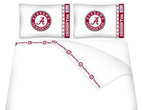 University of Alabama Microfiber Sheet Set