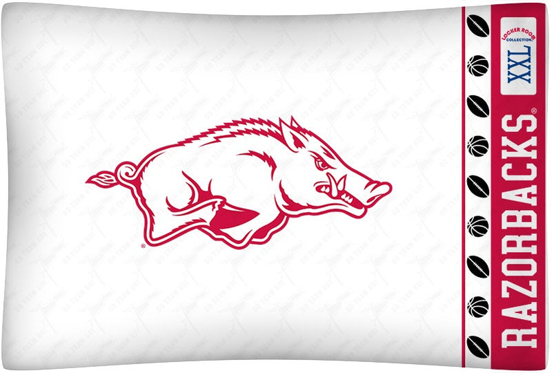 University of Arkansas Pillowcase
