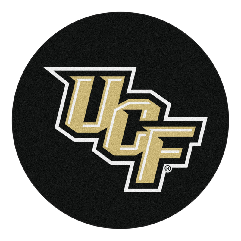 University of Central Florida Hockey Puck Area Rug