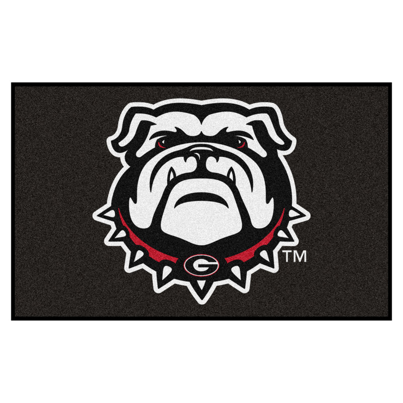 University of Georgia Logo Area Rug