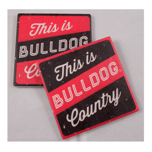 University of Georgia Thirsty Coaster 4-Pack