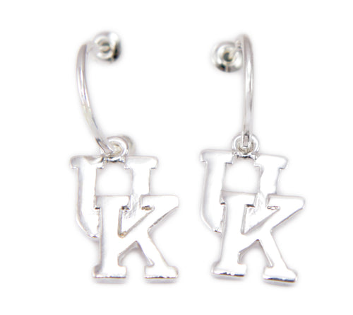 Kentucky Dangle Hoop Earrings